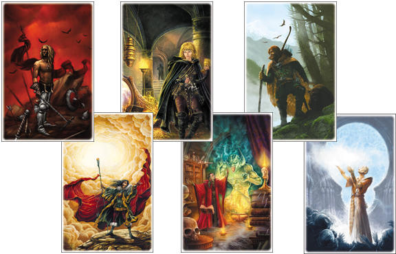 RPG postcards
